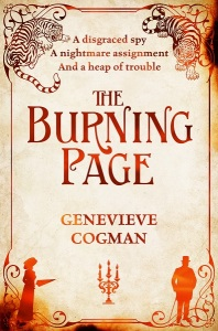 the-burning-page-genevieve-cogman