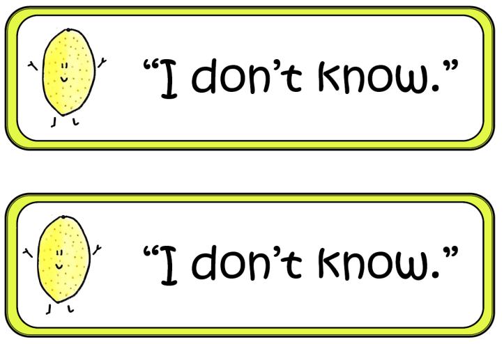 Classroom Labels 2