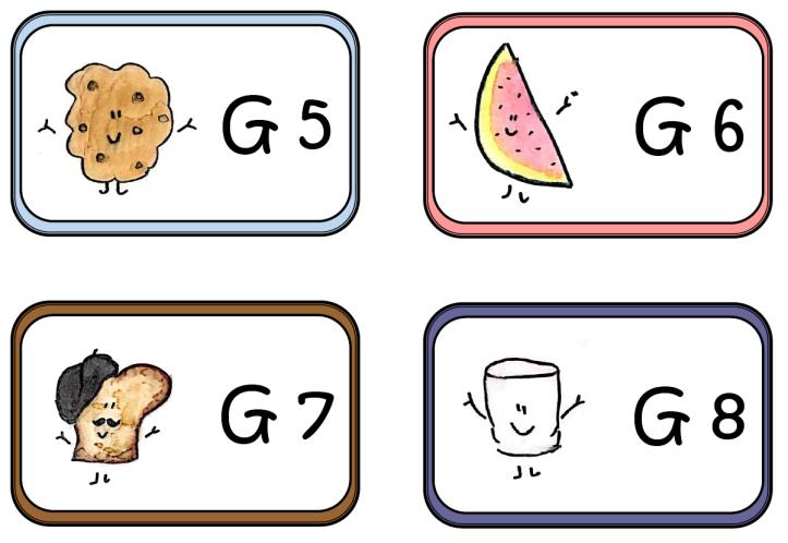 Classroom Labels 8