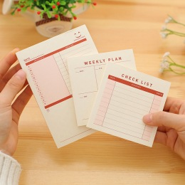 JUGAL-1pcs-lot-Mini-Pocket-Monthly-Weekly-plan-Check-list-Notepad-Desk-Memo-Pad-Daily-To