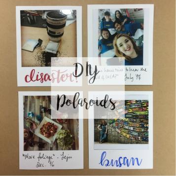 DIY Polaroid Frame (1)