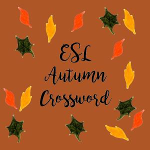 ESL Autumn Crossword